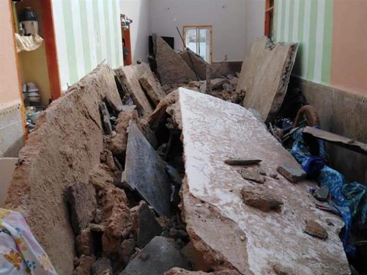 الأرصاد: سقوط منزلين بسبب الأمطار في مطروح والعلمين