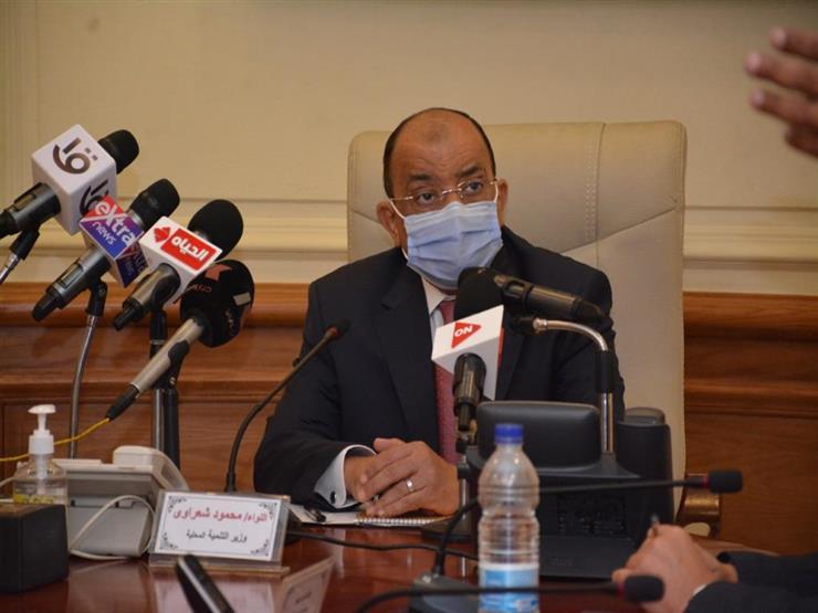 وزير التنمية المحلية يتلقى تقريرًا بشأن متابعة جهود رفع تراكمات مياه الأمطار