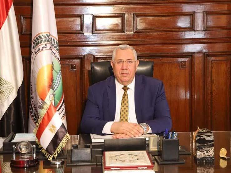 وزير الزراعة يبحث مع سفير كازاخستان تعميق وزيادة التعاون بين البلدين