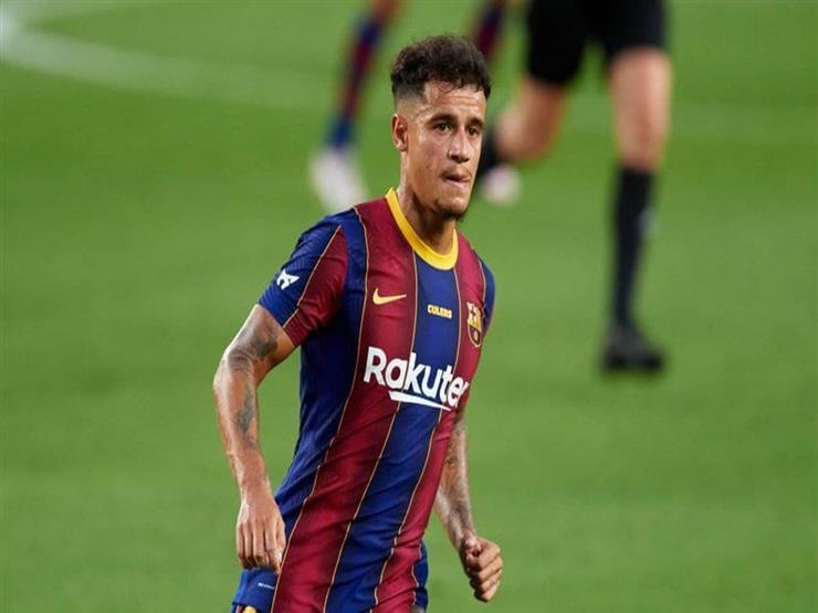 رسميا.. برشلونة يعلن إصابة كوتينيو