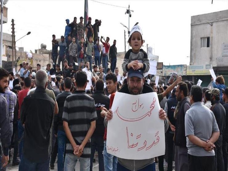 سوريا.. مظاهرات حاشدة في الرقة ودرعا تنديدا بتصريحات ماكرون
