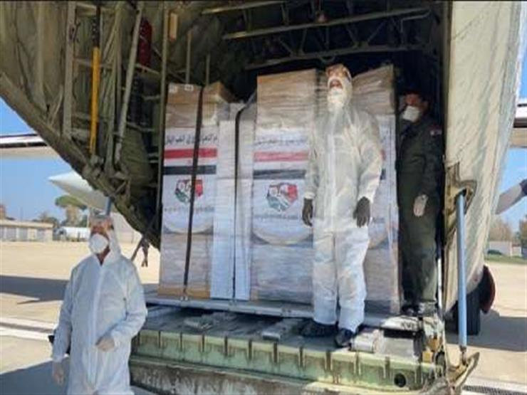 وصول شحنة مساعدات طبية للعراق من مصر لمواجهة فيروس كورونا