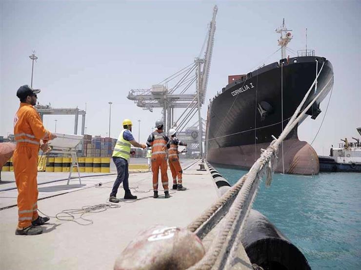 موانئ السخنة والأدبية يشهدان زيادة كبيرة في أعداد السفن وتداول الحاويات في شهرين