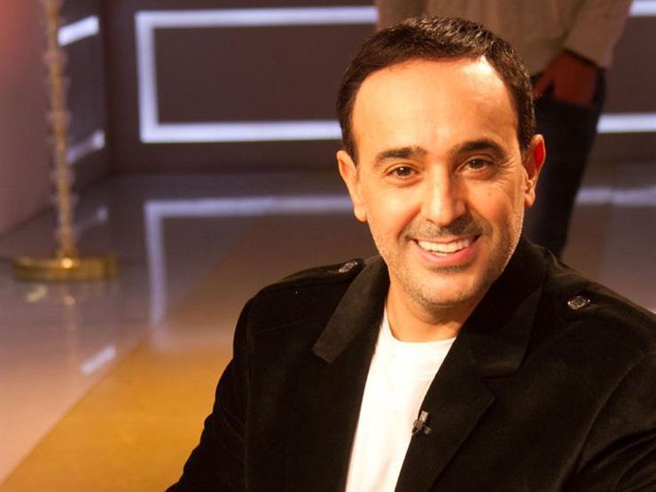 صابر الرباعي في بروفة حفل ختام مهرجان الموسيقى العربية