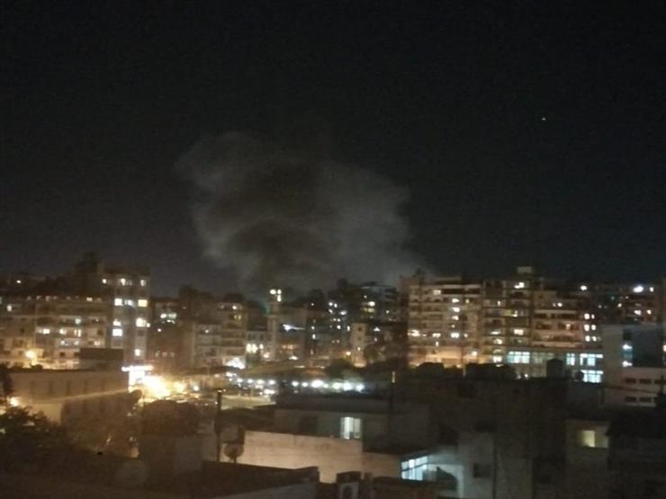 انفجار جديد في بيروت وفرق الدفاع المدني تحاول إخماد الحريق (فيديو وصور)