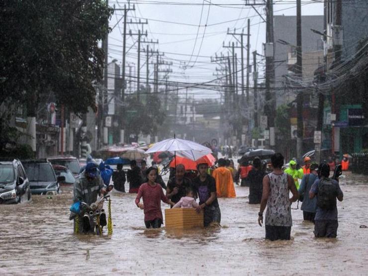 إعصار يضرب جزيرة لوزون الرئيسية في الفلبين ومقتل شخصين