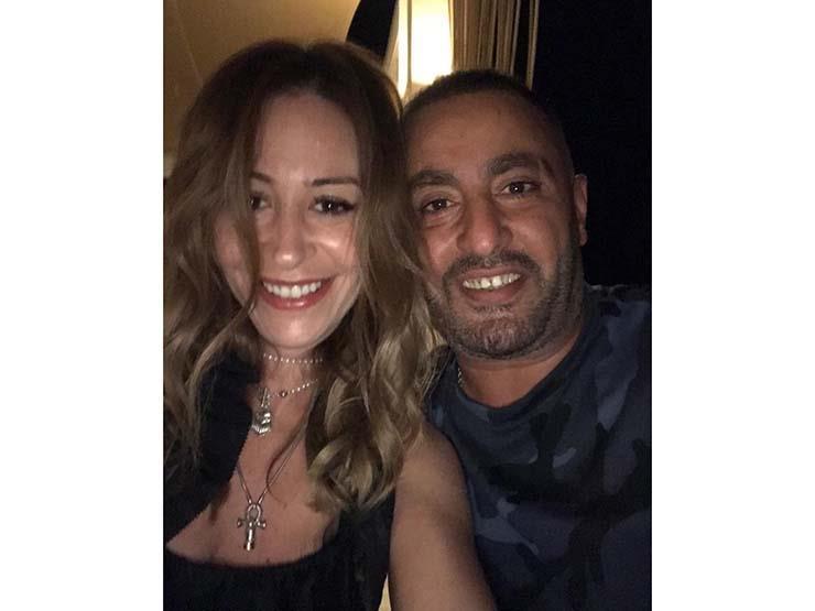"""منة شلبي تهنئ أحمد السقا على """"العنكبوت"""""""