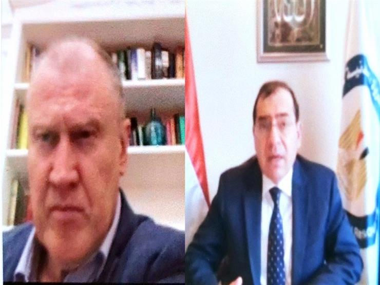وزير البترول يبحث مع سفير أستراليا تأثير كورونا على سوق الغاز العالمي