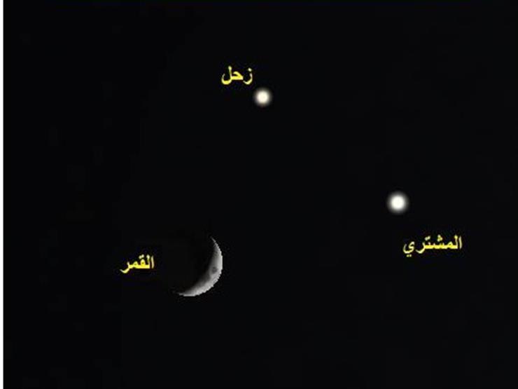 """كوكبان ونجم.. """"البحوث الفلكية"""" يكشف تفاصيل ظاهرة اقتران يشهدها العالم غدًا"""