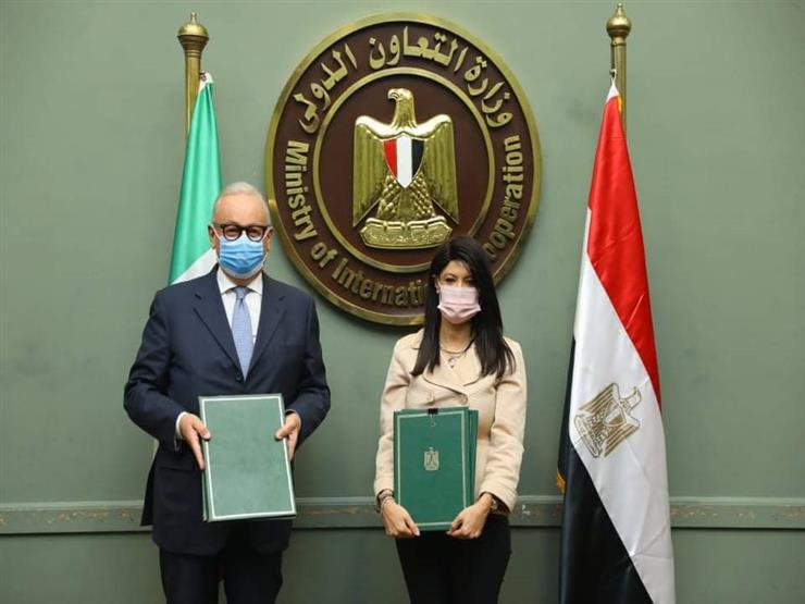 مصر توقع اتفاقيتين مع إيطاليا بشأن المشروعات الصغيرة ومدينة الروبيكي