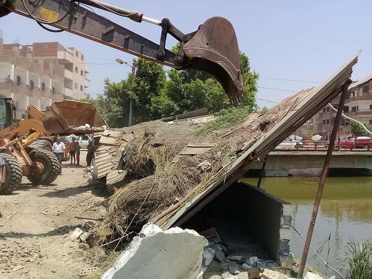 """""""الري"""": إزالة 26 حالة تعد على نهر النيل في 5 محافظات"""