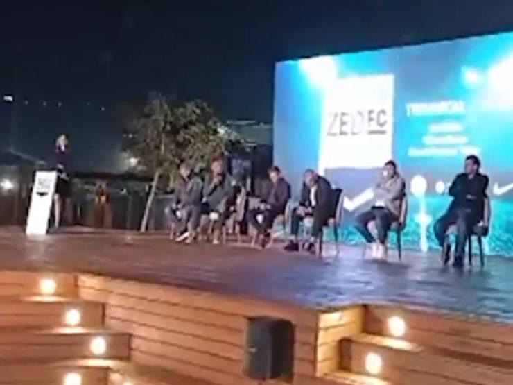 """احتفال إعلان نادي """"ZED"""" الرياضي بحضور نجوم الكرة المصرية"""