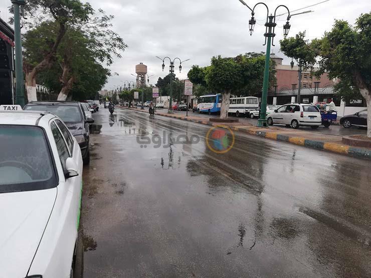 تبدأ بعد ساعات.. الأرصاد: 10 محافظات الأكثر تعرضًا لموجة الأمطار الحالية