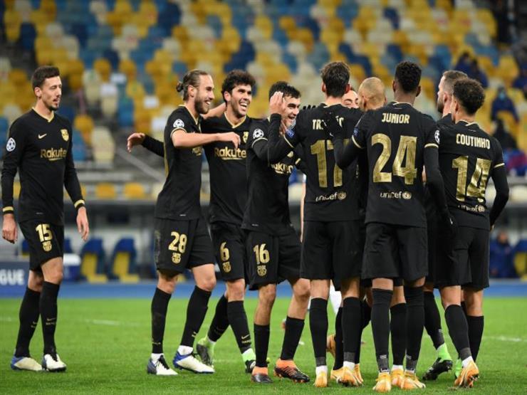 إلى 16 دوري الأبطال.. برشلونة يكتسح دينامو كييف.. وتأهل درامي ليوفنتوس