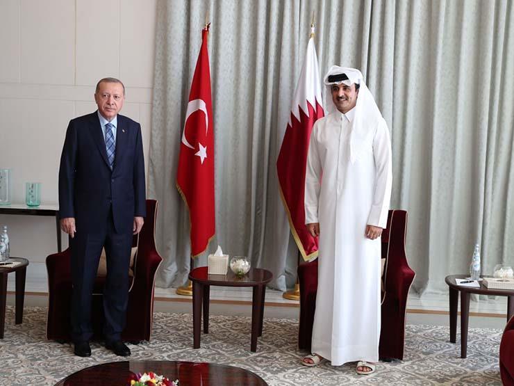 إردوغان يستقبل أمير قطر في تركيا