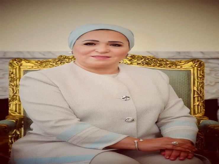 """قرينة الرئيس عن محمد صلاح: """"الناس فاكرة إنه بقى نجم في يوم وليلة"""""""