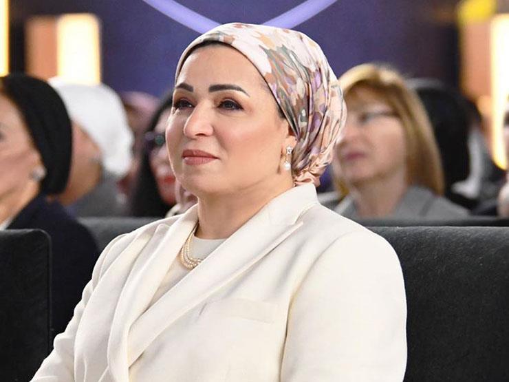 السيدة انتصار السيسي تهنئ الشعب المصري بحلول شهر رمضان