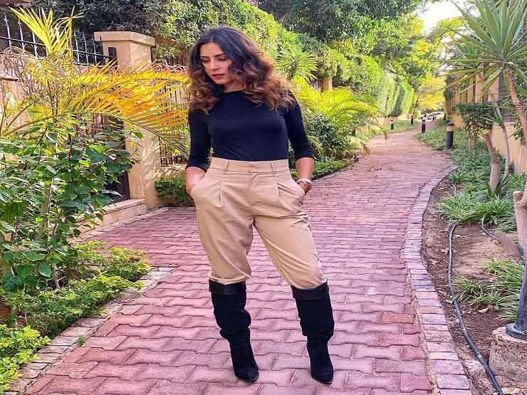 ريهام أيمن تنشر صورا من أحدث ظهور لها