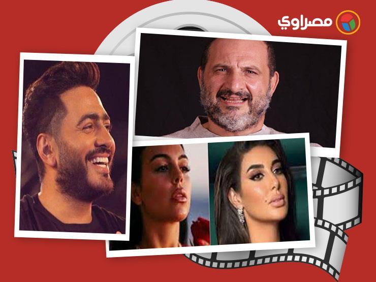 النشرة الفنية  سر مدفن بشرى وآخر ظهور عائلي لمحمود ياسين وابنة أحمد بدير تهدد