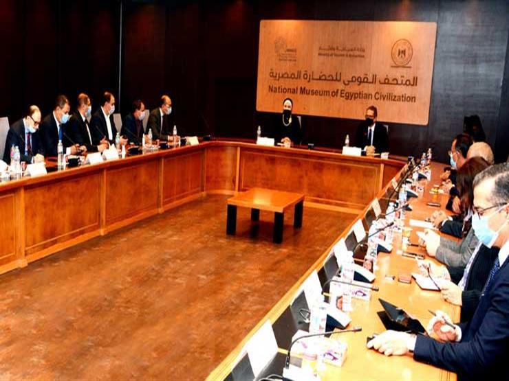 بحضور ممثلي 6 وزارات.. بحث الترتيبات الخاصة بمحتوى الجناح المصري بمعرض اكسبو دبي 2020