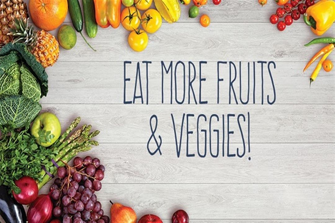 للنباتيين.. هذا ما يحدث لجسمك عند تناول الخضروات والفواكه يوميًا