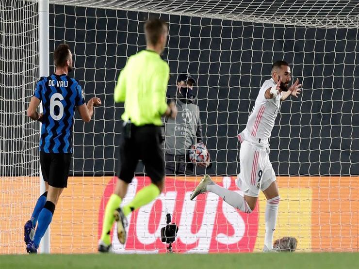 ريال مدريد يحقق فوزاً صعباً على إنتر ميلان بدوري أبطال أوروبا