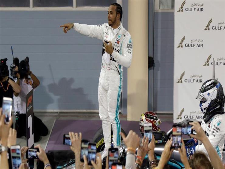 بعد فوزه بسباق البحرين.. هاميلتون يعزز رقمه القياسي التاريخي في فورمولا-1