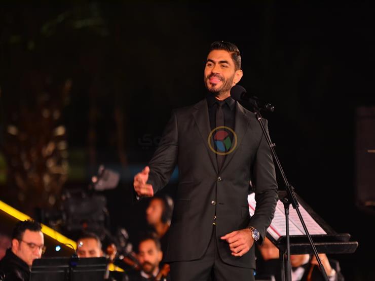 خالد سليم يهنئ أنغام على ألبومها الجديد