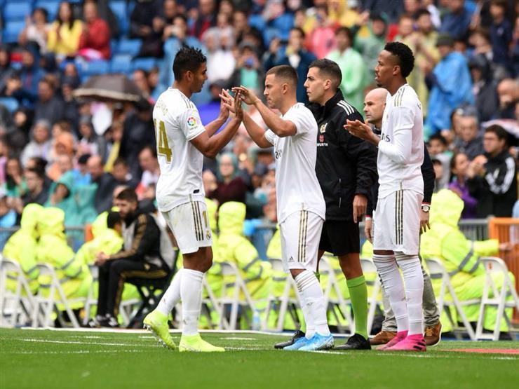إصابة هازارد وكاسيميرو لاعبا ريال مدريد بفيروس كورونا