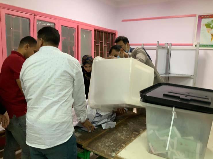 انتهاء التصويت وبدء فرز أصوات جولة إعادة المرحلة الأولى بانتخابات النواب