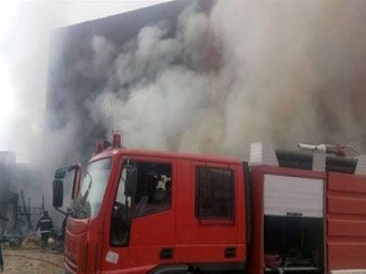 إصابة 17 عاملاً بحريق مصنع الثنر في العاشر من رمضان