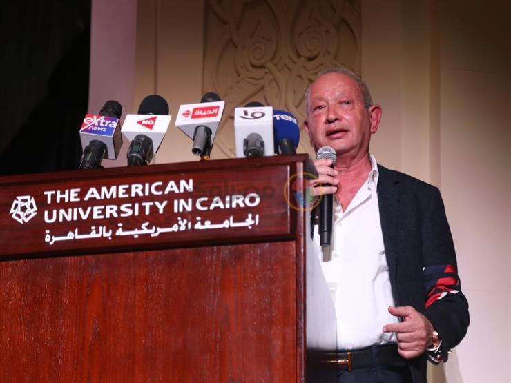 """""""ساويرس في حفل جوائز فؤاد نجم: """"أبتسم عندما أتذكره"""""""