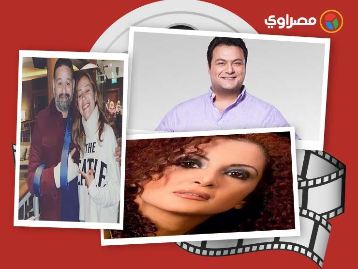 النشرة الفنية 4 وفيات وموقف زوجة قماح من أنا مش نجيب ساويرس مصراوى