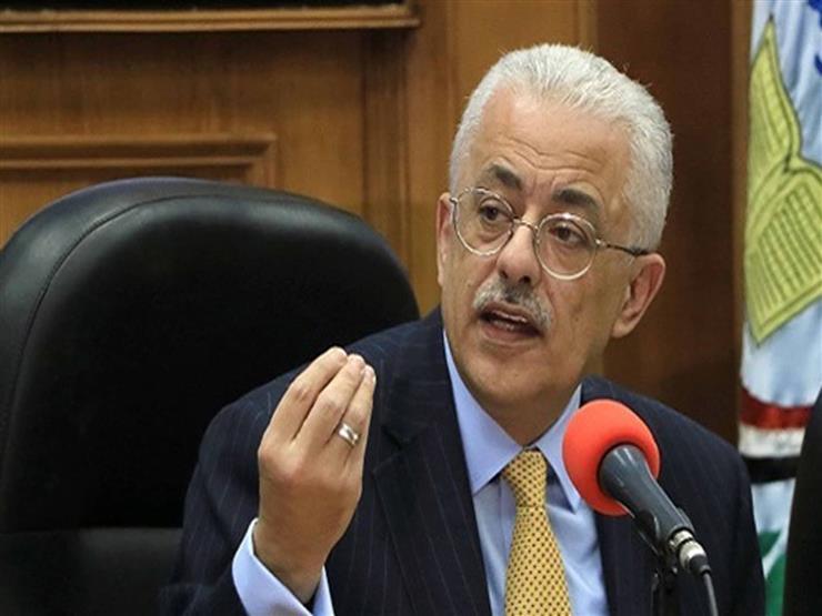 موحد لمدة 3 ساعات.. وزير التعليم: امتحان الترم الأول للشهادة الإعدادية 7 مارس