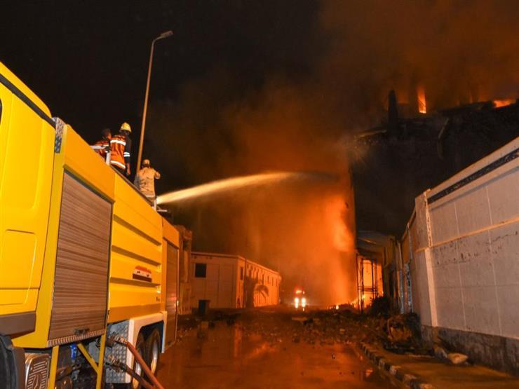 """الجريمة في 24 ساعة.. تفاصيل حريق ميناء الإسكندرية وتسليم رُفات ضحية """"سفاح الجيزة"""" الثانية لأسرتها"""