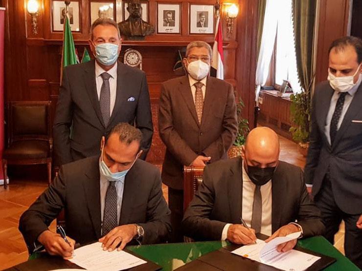 بنك مصر يوقع بروتوكولي تعاون مع اتحاد الغرف التجارية وغرفة القاهرة