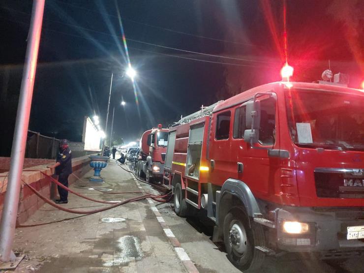 الخسائر بالملايين.. تفاصيل 10 ساعات في حريق مزرعة بجوار سجن القطا