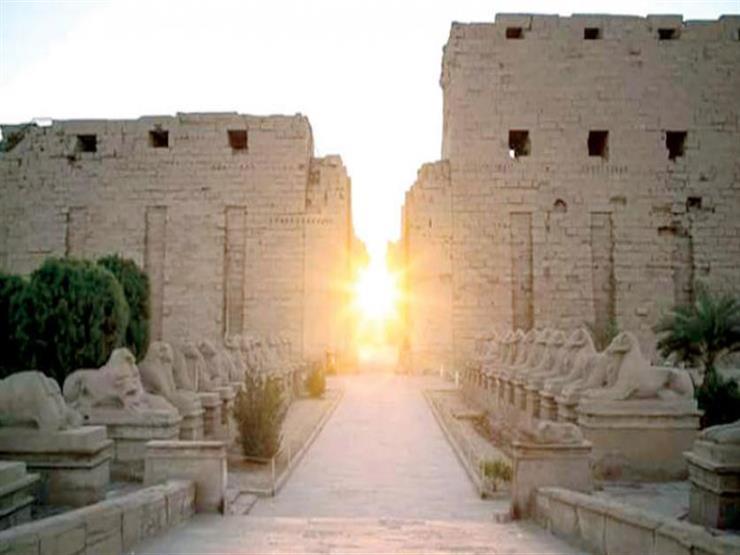 الانقلاب الشتوي.. الشمس تشرق على معبد الكرنك وقصر قارون الاثنين