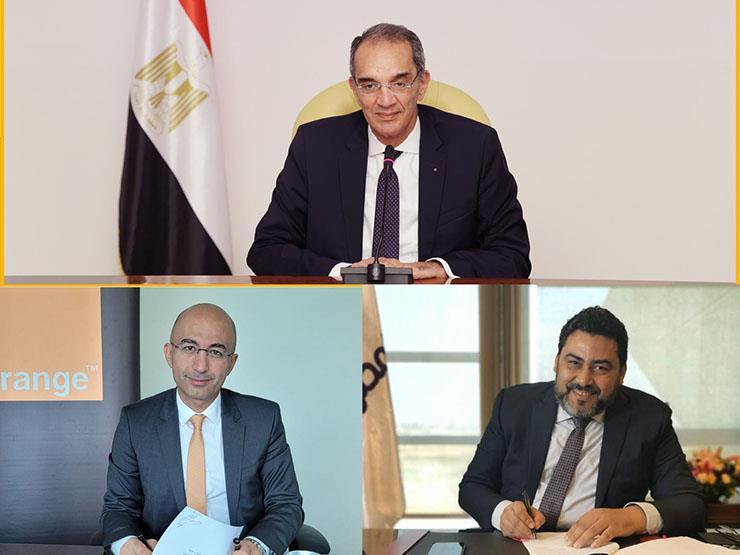توقيع اتفاقات تجارية وتسوية منازعات بين المصرية للاتصالات وأورنج