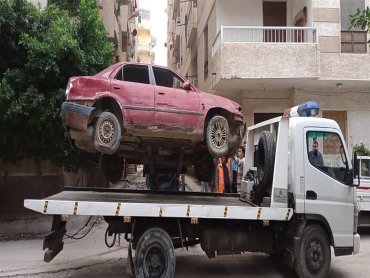 رفع 35 سيارة ودراجة بخارية متروكة ومتهالكة من الشوارع في ثالث أيام عيد الأضحى
