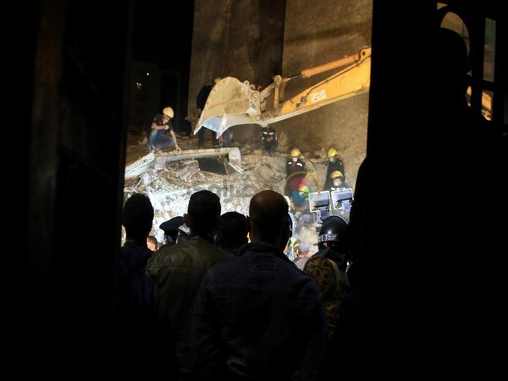 انتشال جثة آخر ضحايا عقار الإسكندرية المنهار.. والحصيلة النهائية 6 قتلى