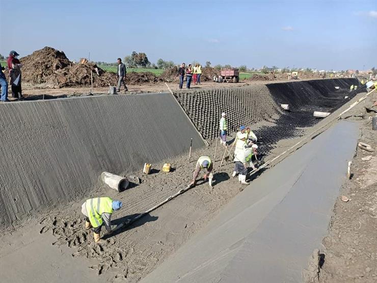 ري الجيزة: مشروع تبطين الترع يستهدف تأهيل 80 كيلو متر باستثمارات تصل لـ 400 مليون جنيه