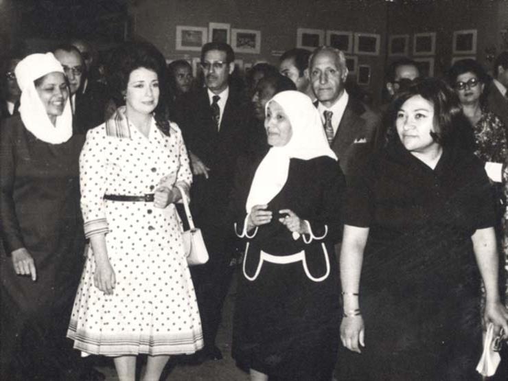 """""""الناس والطبيعة"""" في لوحات """"زينب محمد علي"""".. كيف كانت مصر ولبنان في القرن العشرين؟"""