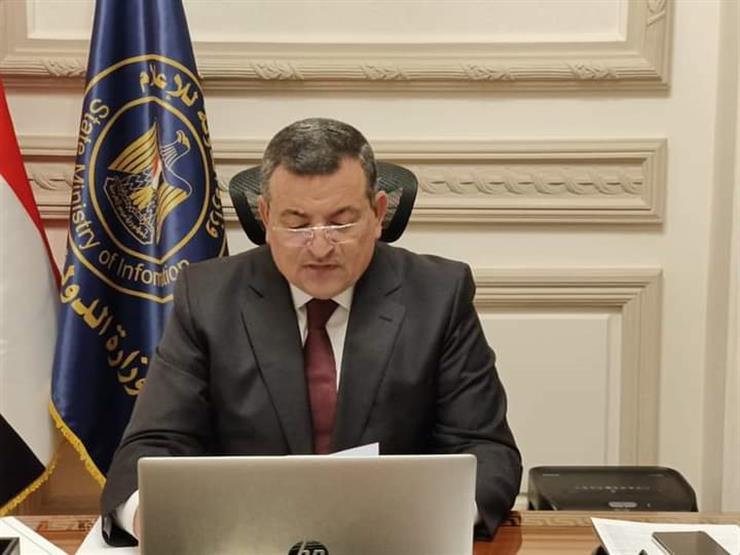 وزير الاعلام أسامة هيكل