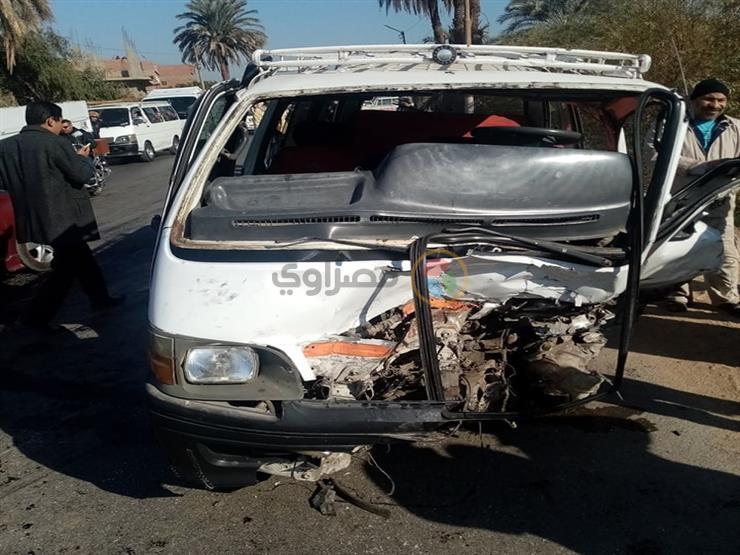 بالأسماء.. مصرع وإصابة 9 أشخاص في حادث تصادم ببورسعيد