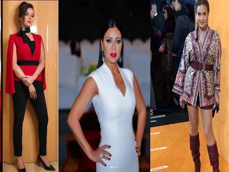 نشرة الموضة| رانيا يوسف تتألق.. يسرا اللوزي بإطلالة ناعمة