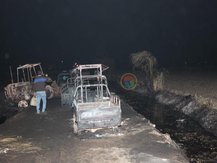 إحالة أوراق ٥ متهمين إلى المفتي في قضية حريق خط البترول بالبحيرة
