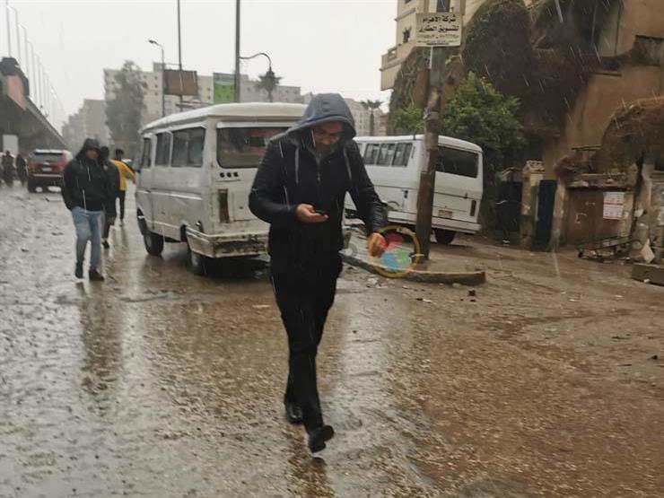 أمطار رعدية ورياح مثيرة للأتربة.. القاهرة الكبرى تتعرض لموجة طقس سيء