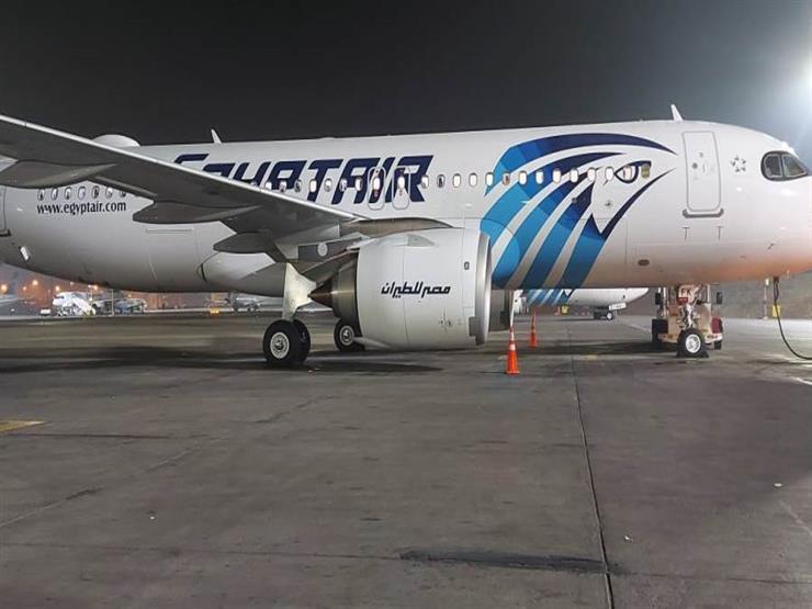 80 مصريا يصلون من لبنان على رحلة استثنائية