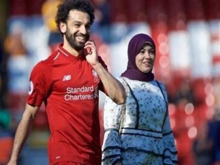 أديب: أنباء عن إصابة زوجة محمد صلاح بفيروس كورونا